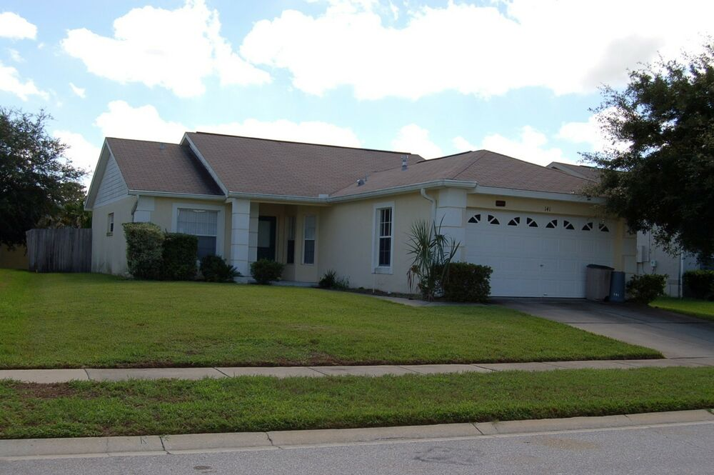 141 Florida Villas For Rent 3 Bedroom Home With Private Fenced Pool 2 Weeks