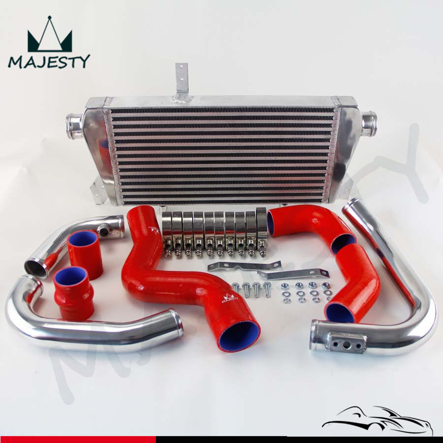 New Front Mount Intercooler Kit For Audi A4 1 8t Turbo B6