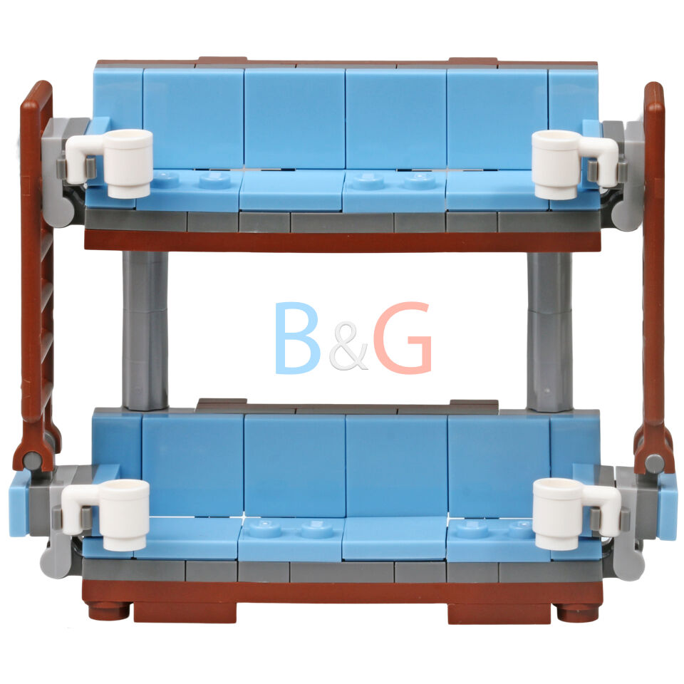 Decke Couch: The LEGO Movie Double Decker Couch From MetalBeard's Sea