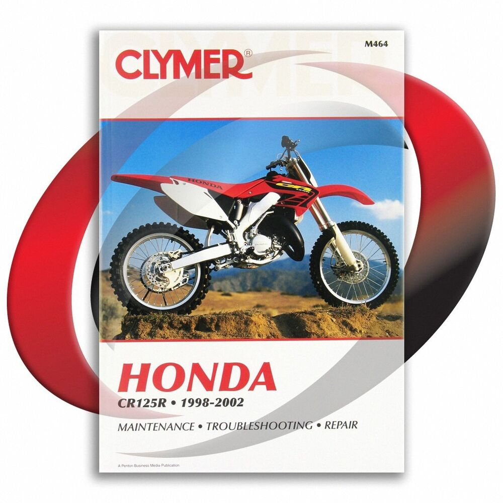 1998-2002 Honda CR125R Repair Manual Clymer M464 Service Shop Garage | eBay