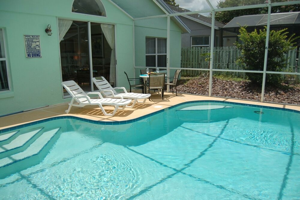 2978 orlando villas for rent 4 bedroom home with private for Four bedroom house with pool