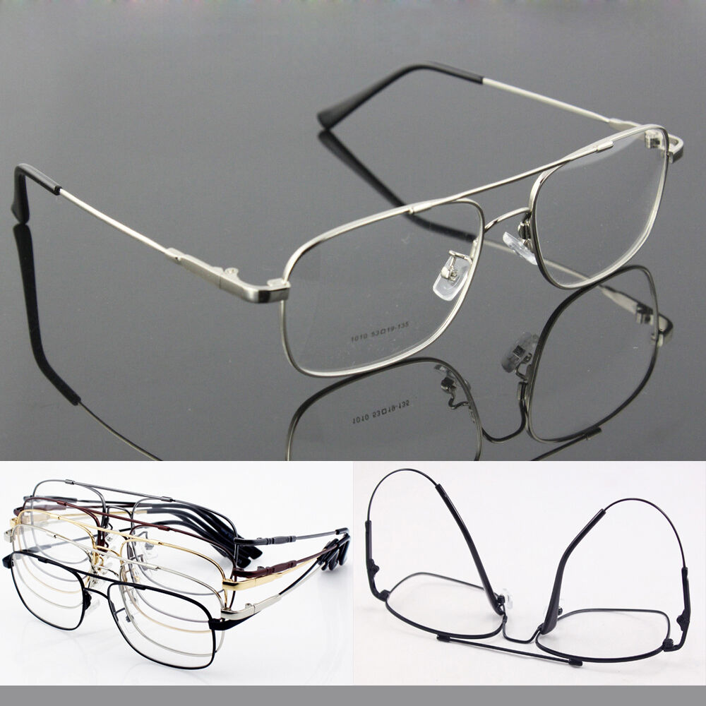 5 colors Memory Titanium Alloy Flexible Pilot Eyeglass ...