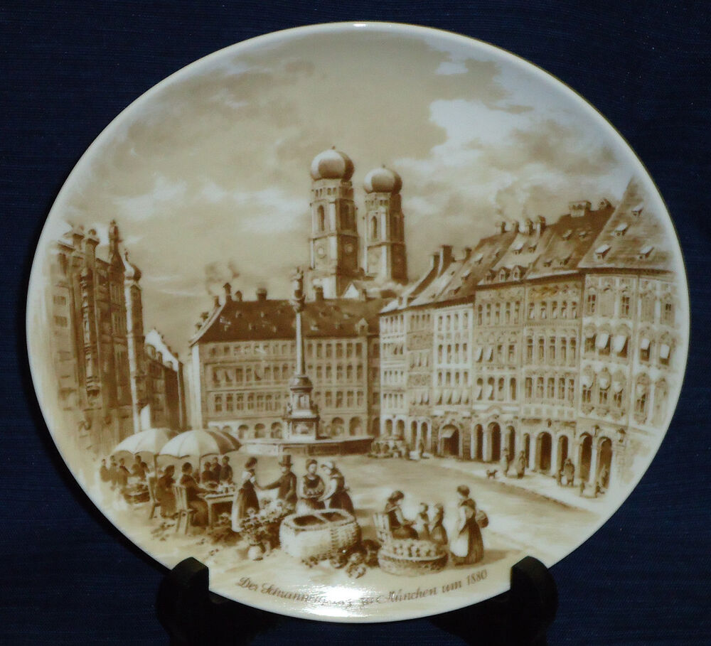 Munchen Collector 39 S Plate Berlin Design West Germany Ebay