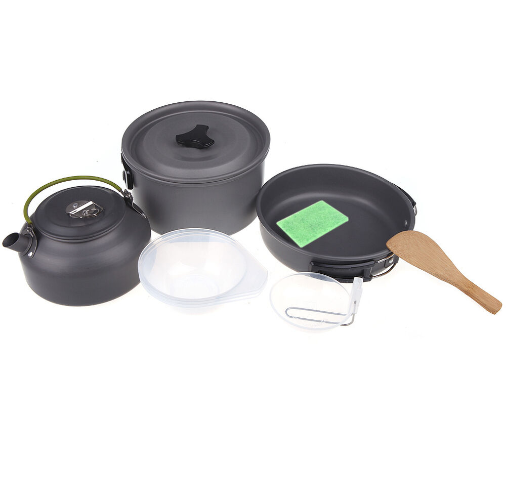 Cooking With A Kettle ~ Outdoor camping cook backpacking picnic cookware pot