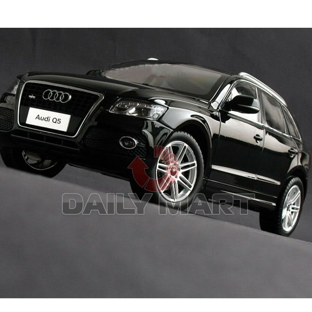 1/18 Scale Audi Q5 Black DieCast Toy Car Model