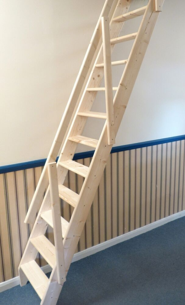 Arundel Wooden Space Saver Staircase Kit Loft Stair