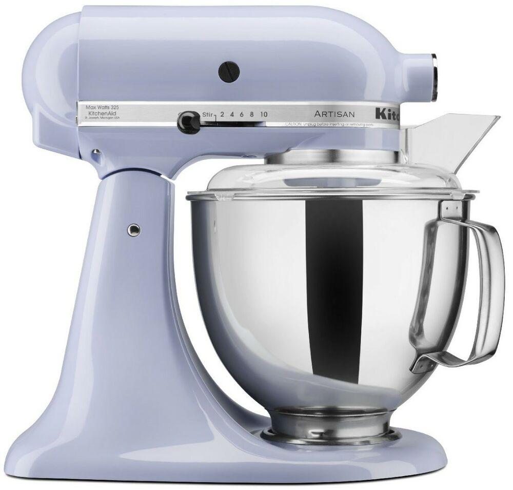 new kitchenaid stand mixer tilt 5 quart ksm150pslr artisan lavender light purple 50946877020 ebay. Black Bedroom Furniture Sets. Home Design Ideas