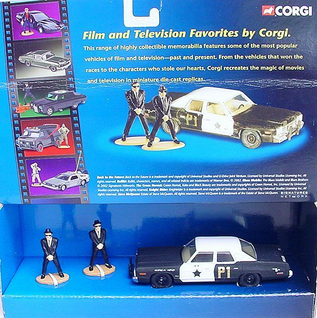 Toys For Brothers : Corgi toys the blues brothers police car movie
