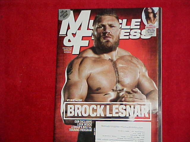 MUSCLE & FITNESS Magazine May 2011 Brock Lesnar UFC ...