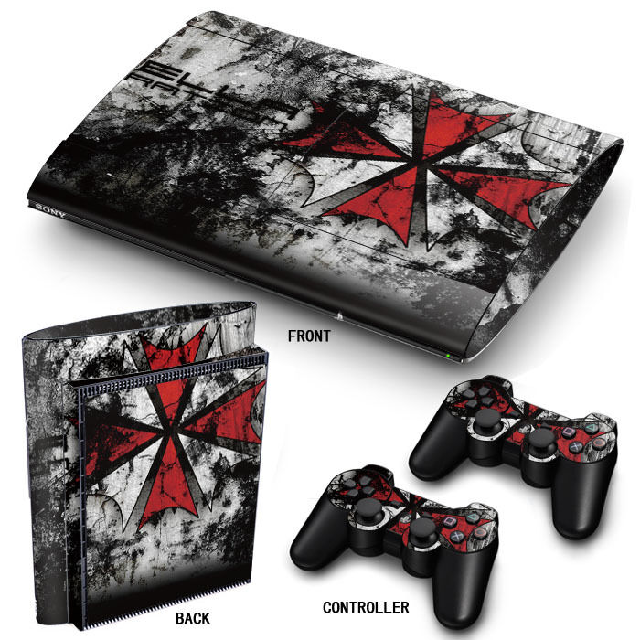 PS3 SuperSlim PlayStation 3 Skin Stickers PVC for Console ...