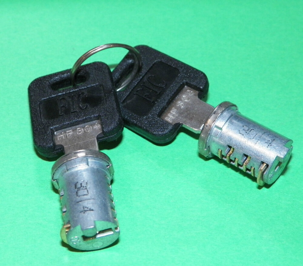 New 2 Sets Fic Replacement Dual Cylinders With Keys