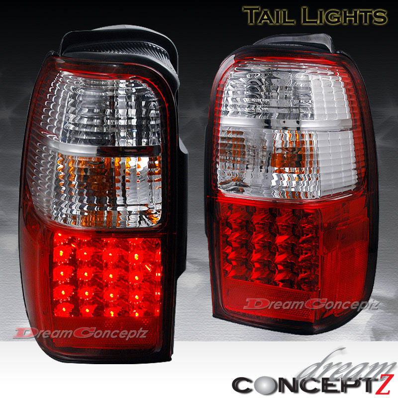 96 00 Toyota 4runner Led Tail Lights Lamps 2wd Sr5 4wd