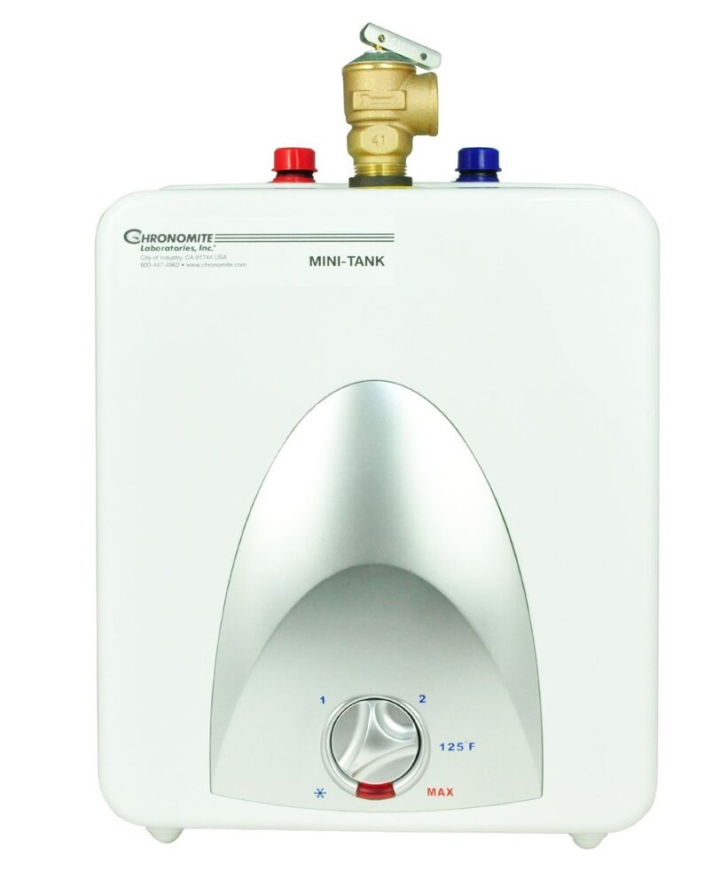 Chronomite cmt 1 3 cmt series point of use mini tank hot for Used water heaters
