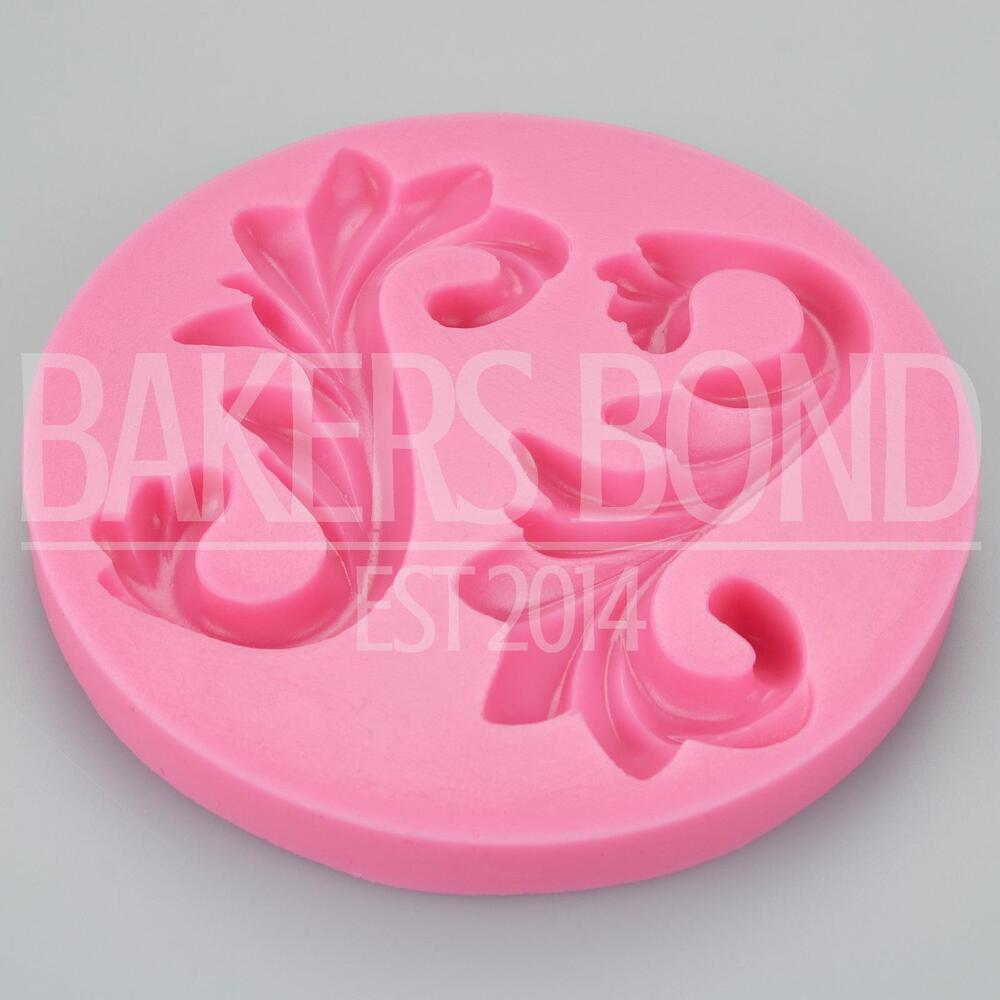 wedding cake topper moulds swirls silicone mould wedding cake decorating 26362