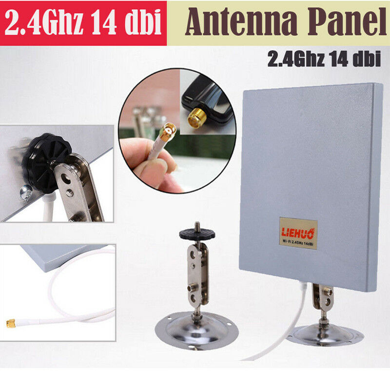 SMA 14dbi 2.4Ghz High Gain WiFi Extender Directional Panel