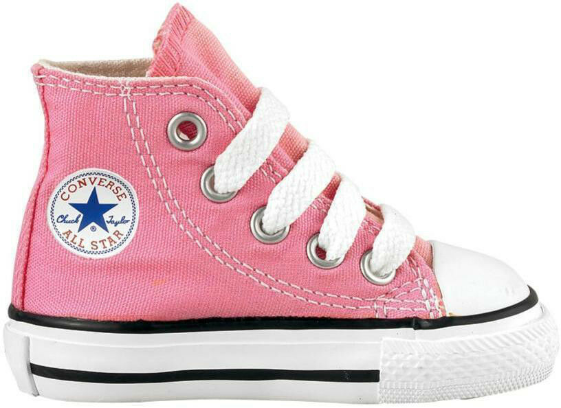 Converse Chuck Taylor All Star Hi Pink White Infant ...