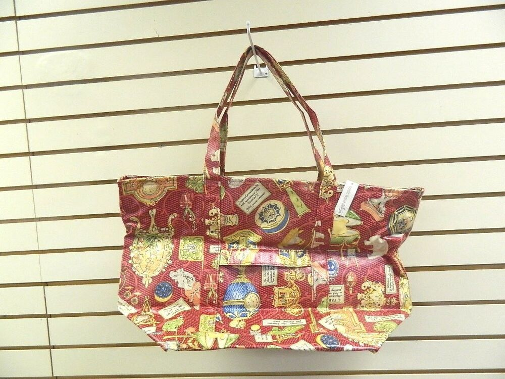 Nordic House Designs Faberge Pattern Large Tote New