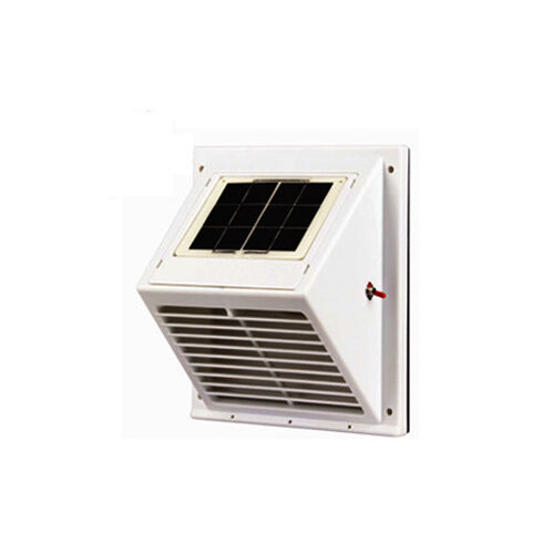 Solar Vent Fan Ventilator Wall Switch Between Day And