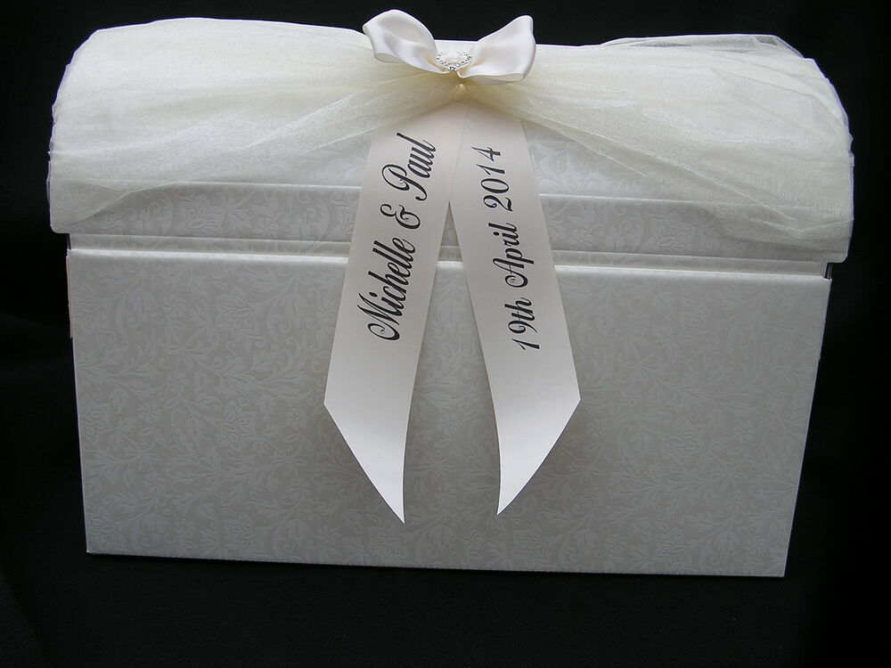 Wedding Gift Post Boxes Uk : Large wedding card post box vintage wedding favours gifts Table ...