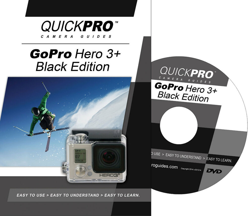 quickpro training dvd gopro hero 3 black edition new free us shipping ebay. Black Bedroom Furniture Sets. Home Design Ideas