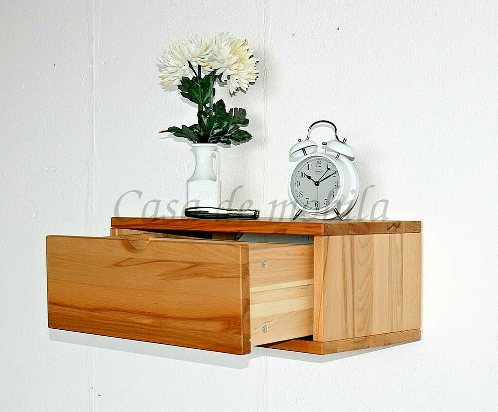 h nge schrank kasten schubladen wand board holz massiv kernbuche wildeiche ge lt ebay. Black Bedroom Furniture Sets. Home Design Ideas