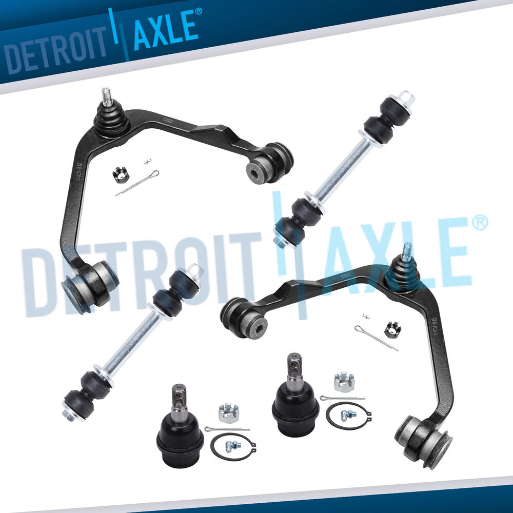 Front Suspension: Brand New 6pc Front Suspension Kit For Ford F-150 F-250