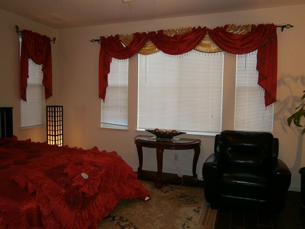 octorose royalty custom waterfall window valance swags. Black Bedroom Furniture Sets. Home Design Ideas