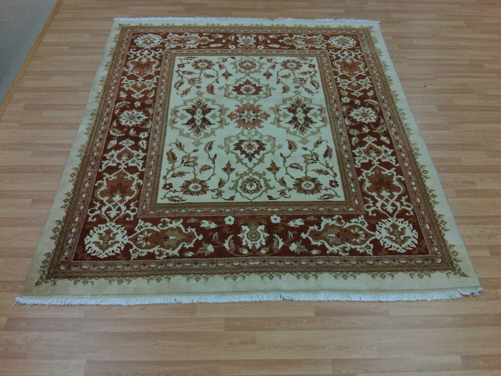 Hand Knotted Iranian Persian Oriental Tabriz Authentic