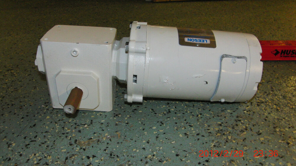 Details About Lesson 1 3hp 12 Volt Dc Motor And Grove Gear Flexaline Sd Reducer Bmq218 30