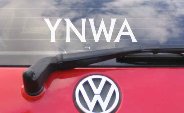 8 ynwa vinyl car window bumper sticker decal liverpool fc ebay