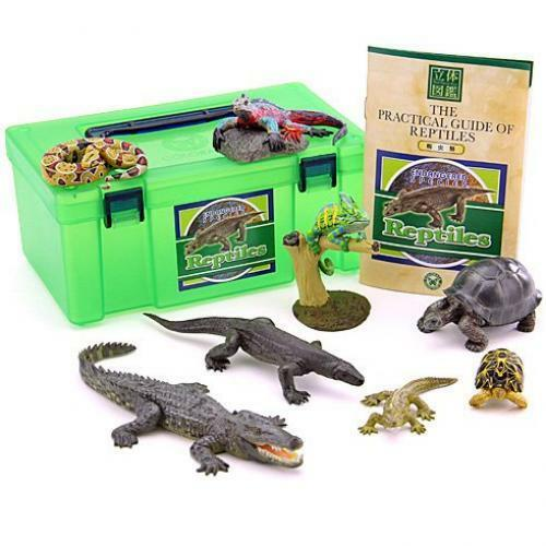 ha0647 colorata japan real figure box reptile lizard chameleon figure set f s ebay. Black Bedroom Furniture Sets. Home Design Ideas