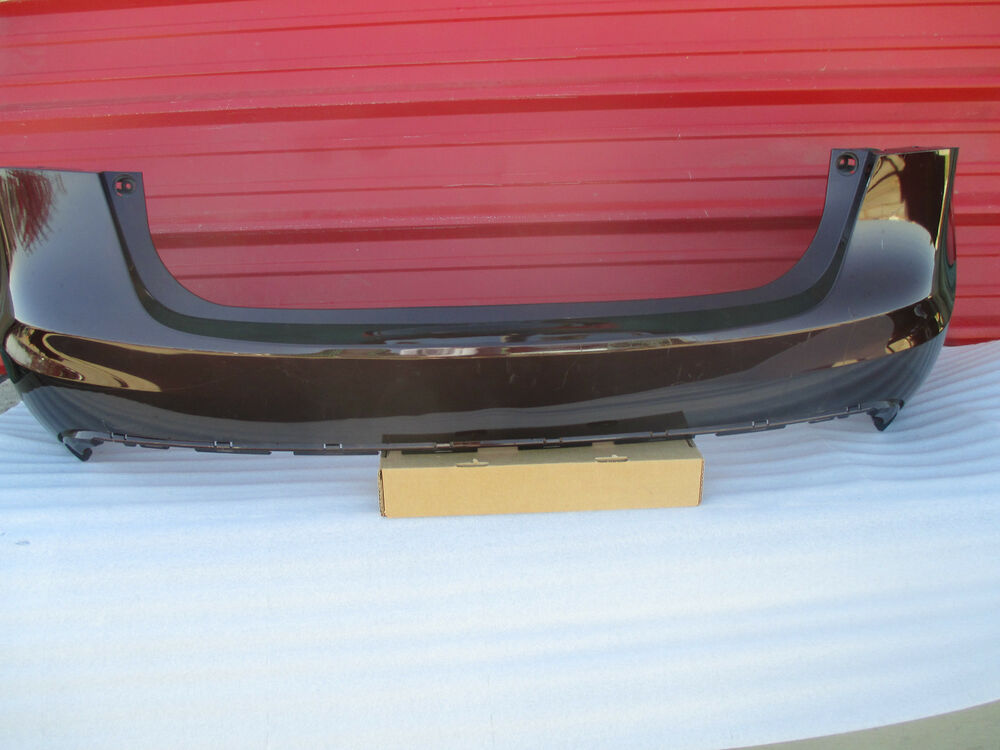 toyota avalon rear bumper cover 2013 2014 original ebay. Black Bedroom Furniture Sets. Home Design Ideas