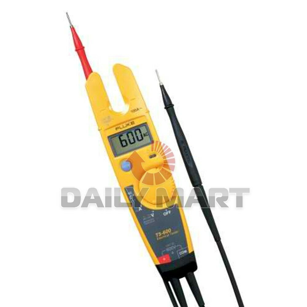 Electric Current Tester : Fluke t voltage continuity and current electrical