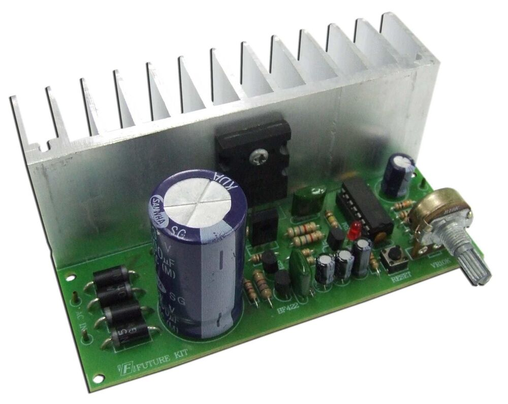 Regulator Power Supply Module Ac Dc 0 50v 3a Lm723 And