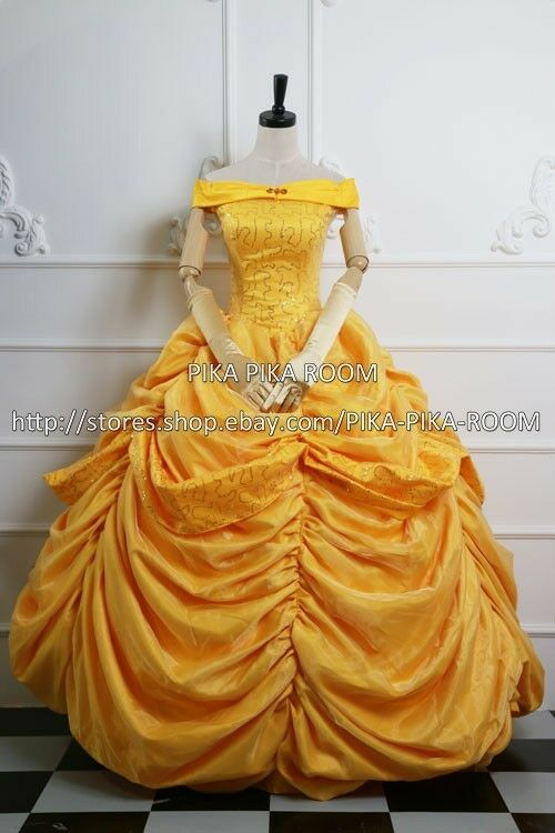 Belle - Yellow ball gown [Beauty and the Beast (Disney ...