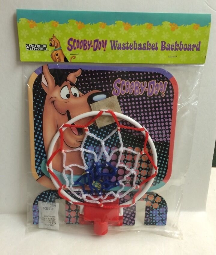 Scooby doo wastebasket backboard new basketball hoop for garbage can ebay - Garbage can basketball hoop ...