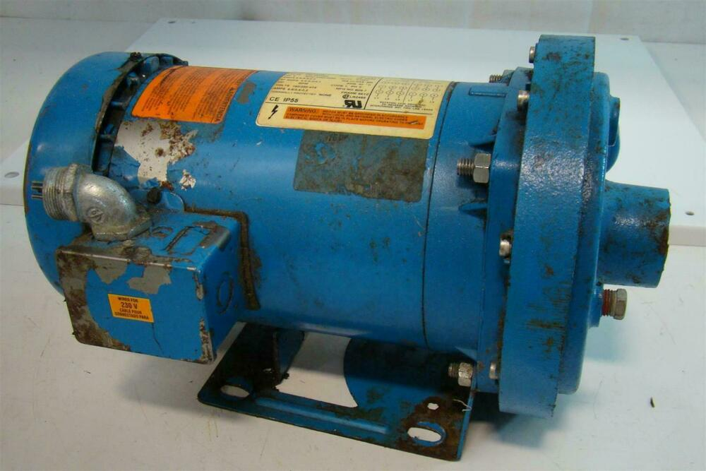 itt coulds centrifugal pump 2hp emerson motor 208 230 460v