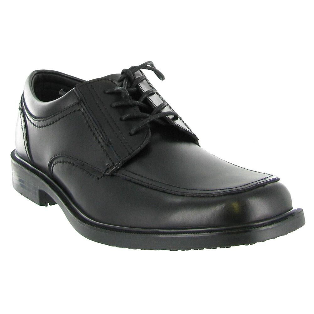 dockers brigade non slip oxford leather mens dress lace up