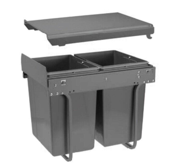 Kitchen Waste Bins: RECYCLE BIN PULL OUT KITCHEN WASTE BIN 400MM