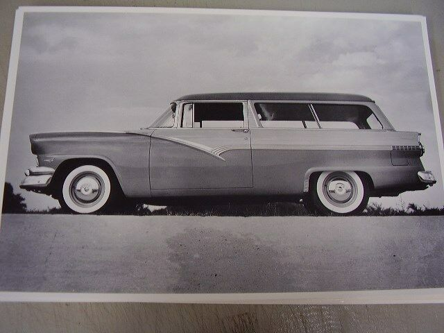 1956 ford 2 door station wagon 12 x 18 photo picture ebay for 1956 ford wagon 2 door