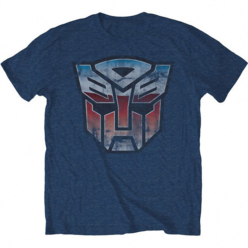 Transformers vintage autobot logo t shirt ebay for Old logo t shirts