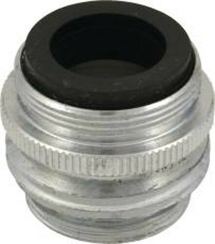Faucet hose adapter dual thread quot male by