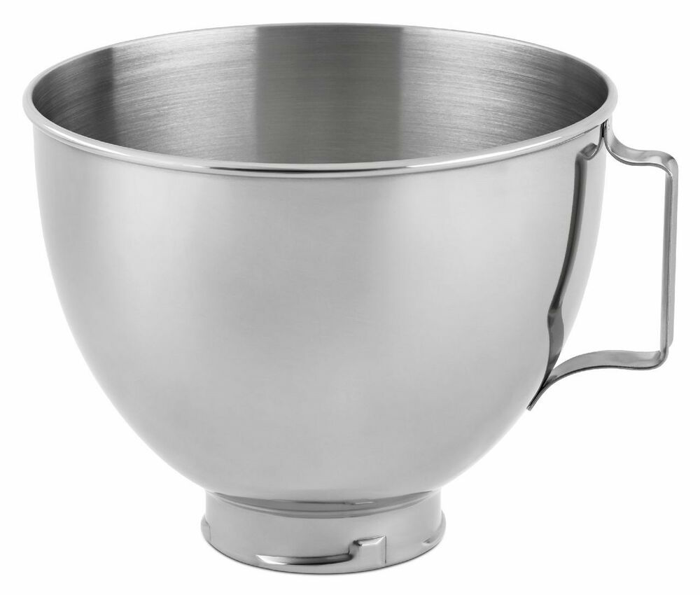 KitchenAid R-K45SBWH Replacement 4.5 Quart Mixing Bowl For