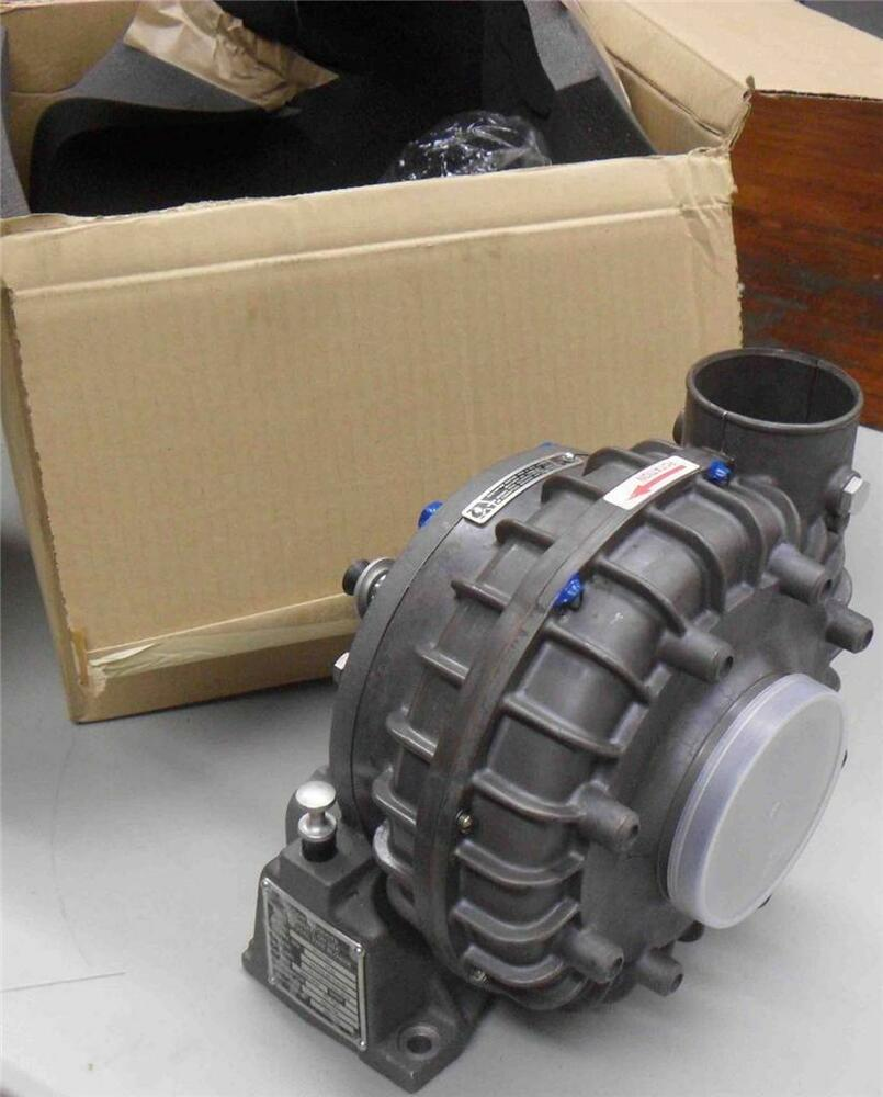 Centrifugal Supercharger History: Paxton Centrifugal Type Blower 400 CFM 3300 RPM VR-70-86F