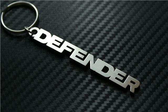 for land rover defender keychain keyring schl sselring porte cl s td4 td5 90 110 ebay. Black Bedroom Furniture Sets. Home Design Ideas