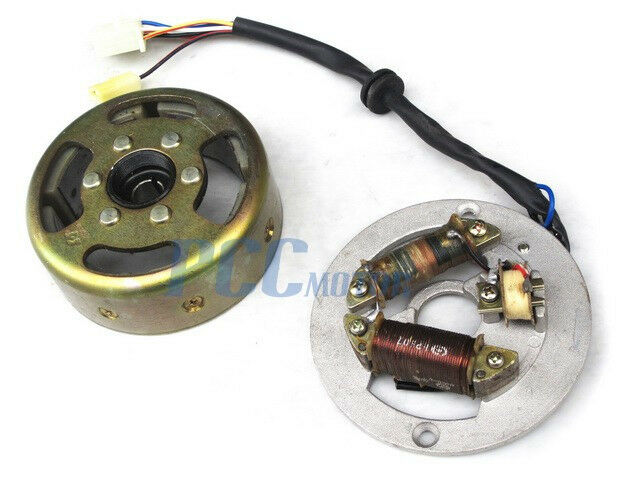 yamaha pw pw80 stator ignition magneto flywheel u is09 ebay
