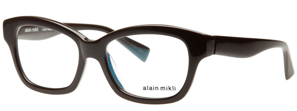 Glasses Frames With Thick Arms : 520USD ALAIN MIKLI AL1123 47mm THICK RETRO BROWN GLASSES ...