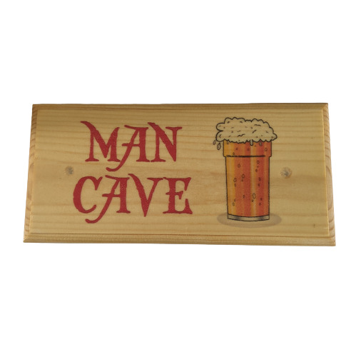Man Cave - Plaque / Sign / Gift - Beer Mates TV Football Men Shed ...