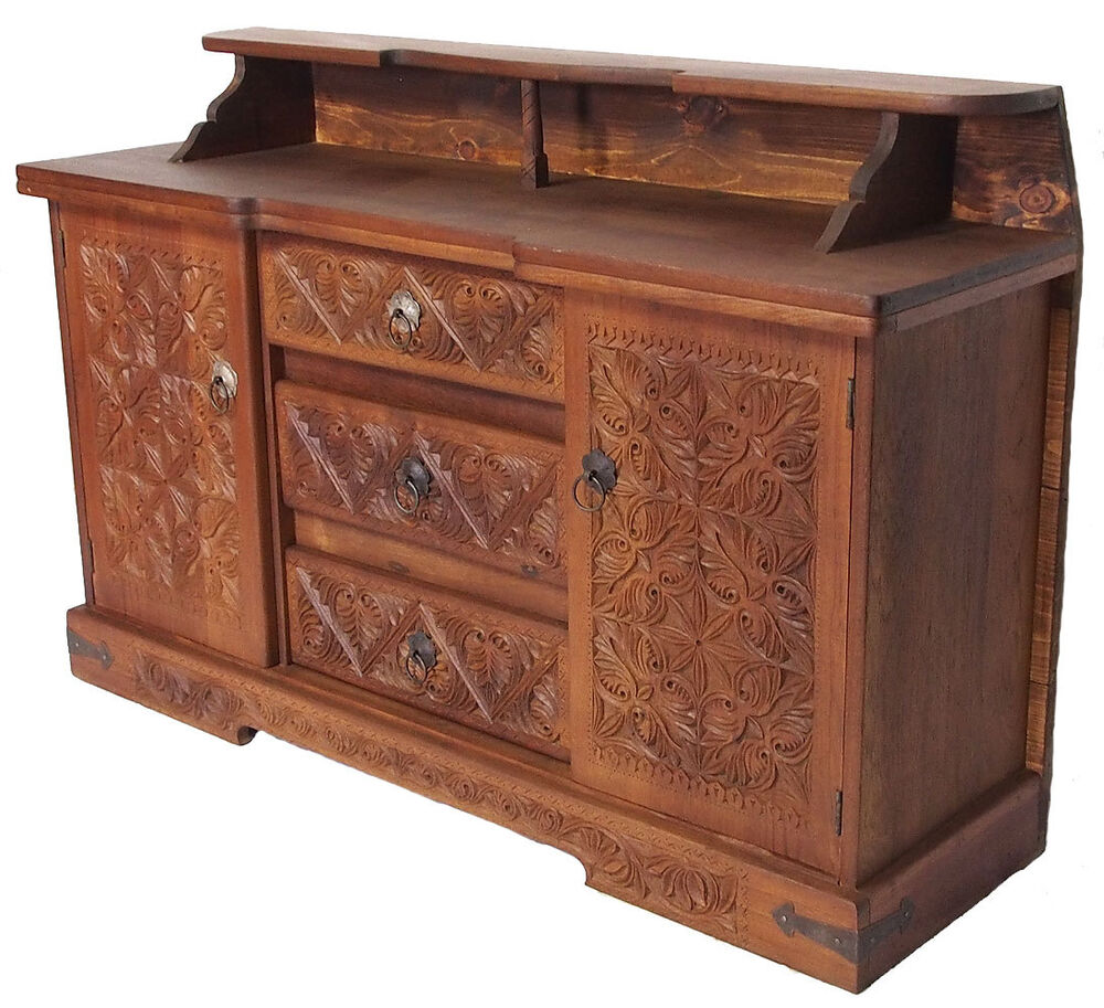 antik look orient tv schrank sideboard buffet anrichte kommode cabinet nr 18 ebay. Black Bedroom Furniture Sets. Home Design Ideas