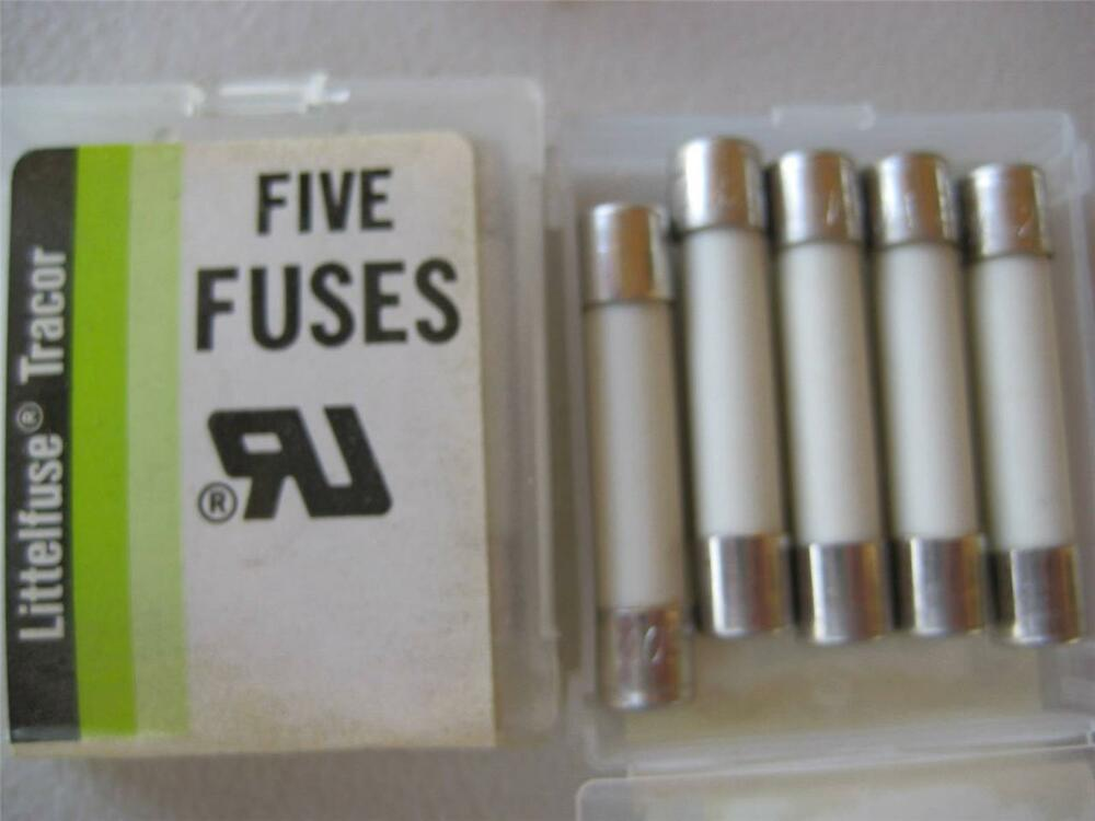 5x Littelfuse Fuse 322 1 1 1 4 8 10 12 15 Or 30 Amp 65 Or